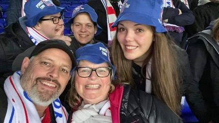 Fortuna fans enjoying a trip to Portman Road in 2020 Picture: CLAUDIA PÖTSCHKE