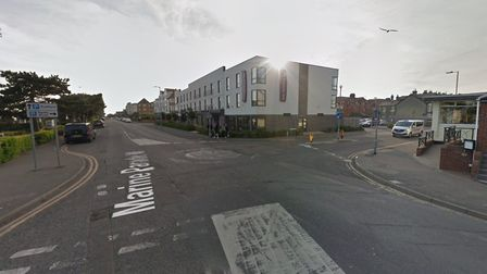 The stabbing happened in Marine Parade West in Clacton. Picture: GOOGLE MAPS