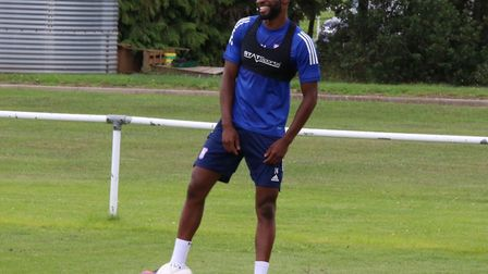 Star defender Kane Vincent-Young has a laugh as Ipswich Town get back to training Picture: ITFC