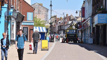 East Suffolk Council has unveiled plans to revitalise Lowestoft town centre. Picture: NICK BUTCHER