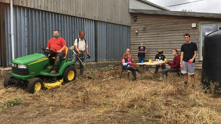 Clinks Care Farm preparing for its JustGiving Rural Community Challenge Picture: CLINKS CARE FARM
