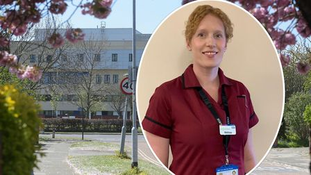 Meillsa Dowdeswell, chief nurse for the East Suffolk and North Essex Foundation Trust, says Ipswich
