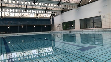 Lane swimming at the leisure centres will return on August 10 Picture: LAUREN DE BOISE