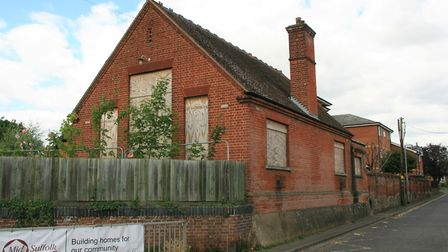 The Victorian building at the former Needham Market Middle School site that will become a library. P