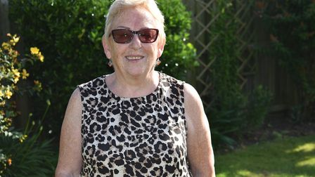 Eileen Howe, from Kesgrave, said the services of Age UK Suffolk changed her life Picture: OLIVER SU