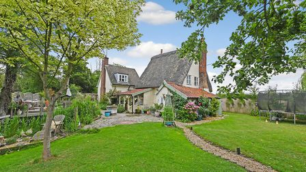 Mill Cottage is on the market for �440,000 with Clarke & Simpson. Picture: RUFUS OWEN