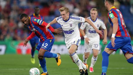 Flynn Downes, pictured in action against Crystal Palace in August 2017. Picture: PA