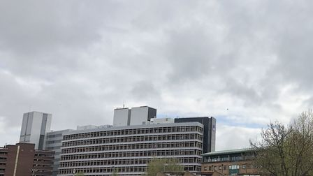 Cloudy skies above Ipswich Picture: ARCHANT