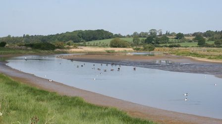 This river scene is on the Suffolk/Essex border - but where? Picture: PAUL GEATER