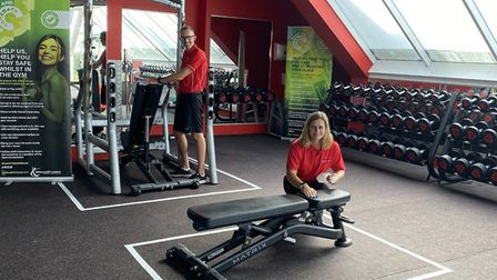 Staff at Kingfisher Leisure Centre in Sudbury have been busy preparing for the re-opening on July 27