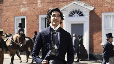 Dev Patel in The Personal History of David Copperfield which was filmed in Bury St Edmunds and East