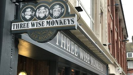 Three Wise Monkeys, located on Ipswich's Lloyd Avenue, is welcoming back customers with a free drink