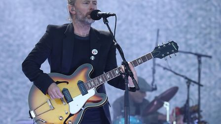 Thom Yorke from Radiohead performing on the main stage at TRNSMT festival in Glasgow Picture: ANDRE