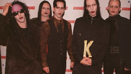 Marilyn Manson. Picture: PA Archive/PA Images/Neil Munns