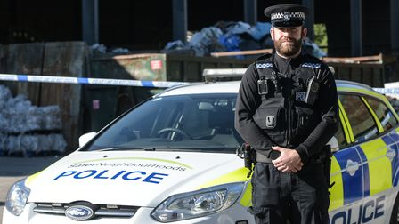 Police are renewing their appeal for help after a newborn baby was discovered at a Needham Market re