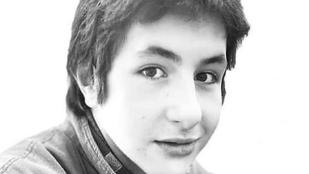 Sidney Hudson, who suffered a serious head injury at the skate park in Bury St Edmunds. Picture: TAR