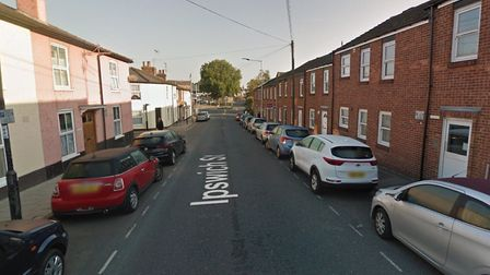A catalytic convertor was stolen from a car in Ipswich Street Picutre: GOOGLE MAPS