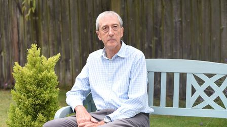 Mr Barker is supporting a change in the law over assisted dying. Picture: CHARLOTTE BOND