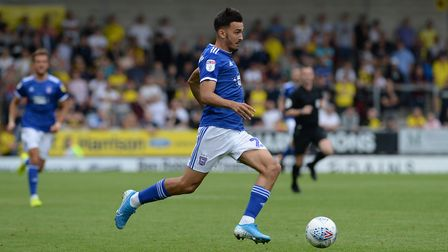 Idris El Mizouni has started six games and made a further seven substitute appearances for Ipswich T