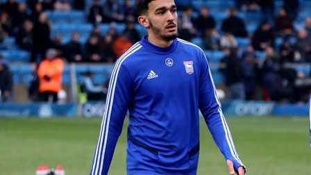 Idris El Mizouni has his sights set on becoming a first team regular for Ipswich Town in 2020/21. Ph