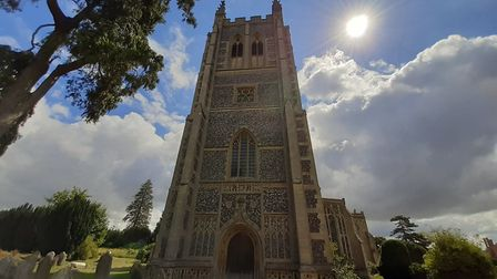 Holy Trinity Church in Long Melford. Picture: GEMMA JARVIS