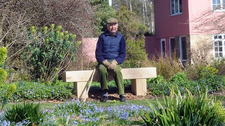 The late Bernard Tickner who created the gardens over 50 years Picture: PHIL MORLEY
