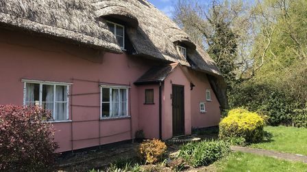 This quaint cottage in Buxhall is Grade II-listed and has a number of period features throughout Pic