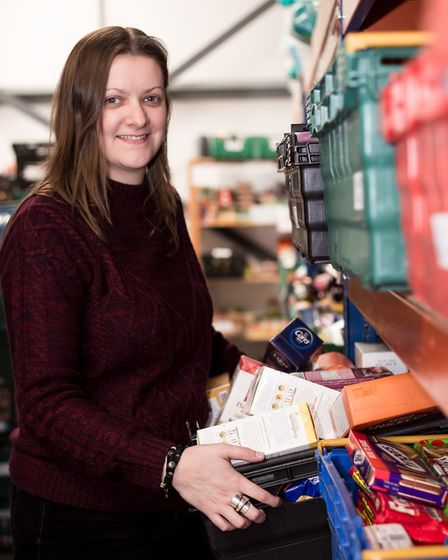 Hannah Worsley, project manager at Norwich Foodbank Picture: Rae Shirley Photography