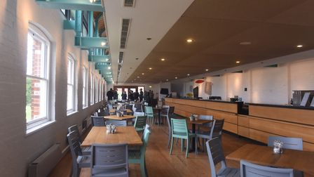 The Concert Hall Cafe at Snape Maltings Picture: LUCY TAYLOR