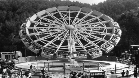 The Star Ride Enterprise was one of the attractions at Pleasurewood Hills in 1989 Picture: ARCHANT