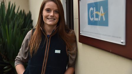 Cath Crowther will start her maternity leave in September Picture: SONYA DUNCAN