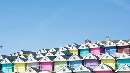 Walton-on-the-Naze's pastel beach huts Picture: Ryan's Insurance/Millie's Beach Huts