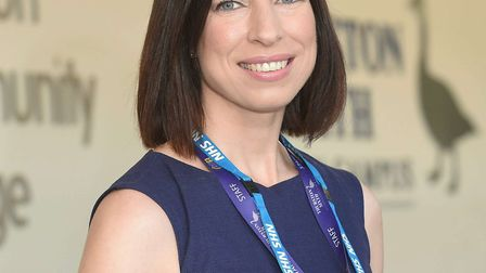 Pscychologist Dr Beth Mosley, poject lead for the West Suffolk Psychology in Schools Project. She is