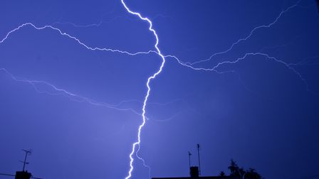 A yellow weather warning for thunderstorms is in place for Suffolk Picture: PETER CUTTS