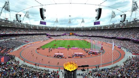 The Olympic Stadium in London in 2012 Picture: Martin Rickett/PA Wire