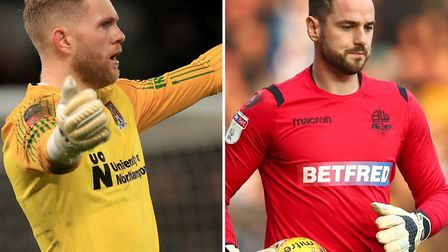 David Cornell, left, is a transfer target for Ipswich Town while Remi Matthews, right, is training w