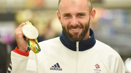 Norfolks Nick Dempsey has won three Olympic medals Picture: Ian Burt