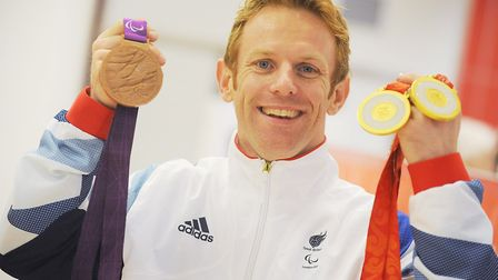 Jody Cundy is one of the few Paralympians to have excelled in two different sports Picture: Ian Burt