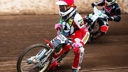 Danny Ayres had signed to ride in the Premiership for the Ipswich Witches in summer 2020. Picture: S