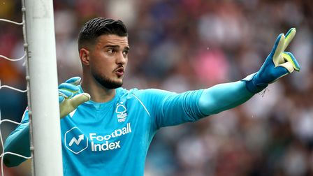 Manchester City keeper Arijanet Muric struggled for game time at Nottingham Forest. Photo: PA