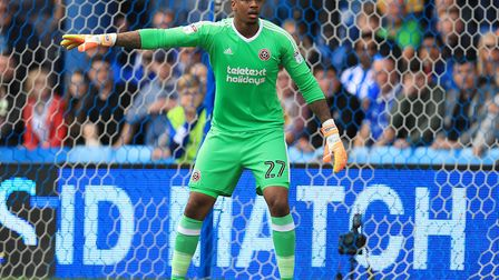 Chelsea keeper Jamal Blackman has had several loan spells - the most recent at Bristol Rovers. Photo