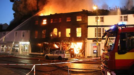 The fire was caused by an electrical fault and resulted in the destruction of the heritage building,