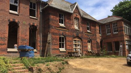 St Leonards, the former hospital which closed in the same year as the fire, has also been recognised