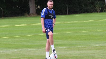 Freddie Sears, pictured back in pre-season training with Ipswich Town. Photo: ITFC