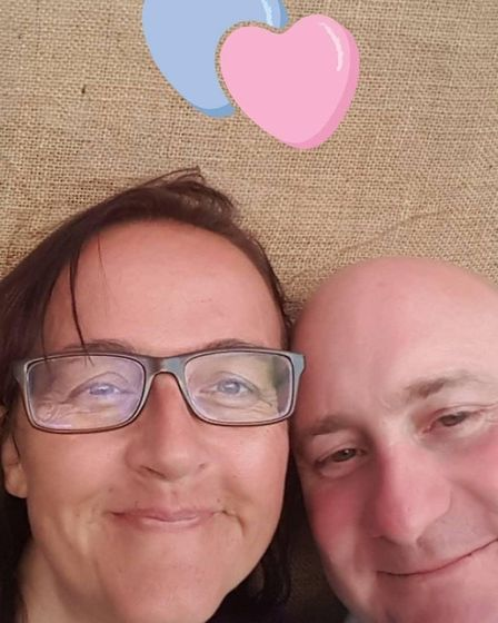 Michelle Cantlow, who died in 2019 after suffering from stage four cancer and her husband Vince Cant