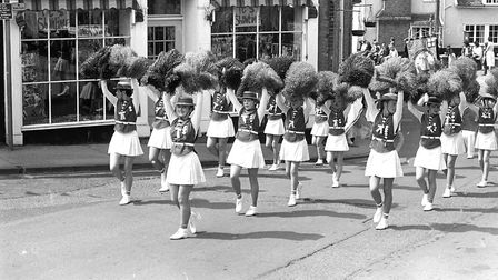 Majorettes putting on a great show at Framlingham Gala Picture: IVAN SMITH