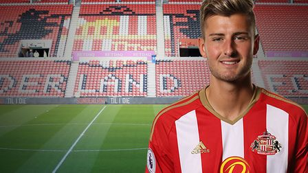 Former Sunderland midfielder Ethan Robson has been linked with a move to Ipswich Town. Picture: PA