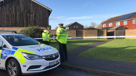Suffolk police launched a murder inquiry after the death of Clare Nash in Brickfields Avenue, Newmar