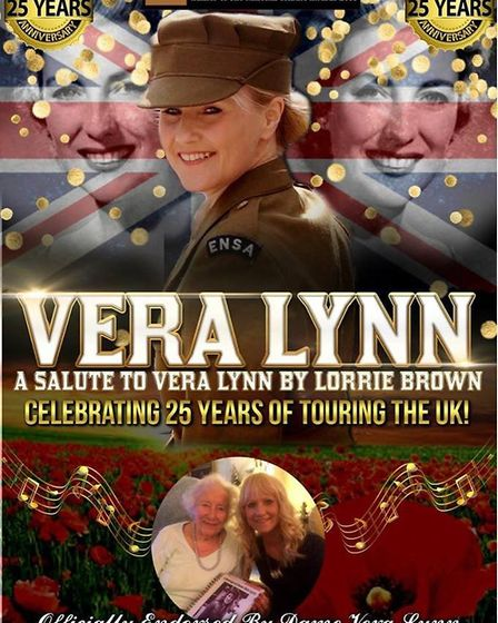 The Vera Lynn Story kicks off proceedings with a tribute to the British icon. Picture: OEPLive!