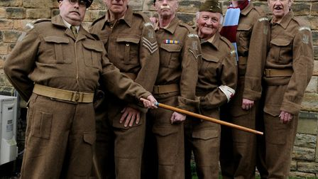 The Cast Of The Dad's Army Touring Show. Picture: OEPLive!